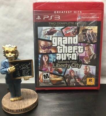 Grand theft auto iv episodes from liberty city greatest hits ps3 grand theft auto iv episodes from liberty city greatest hits ps3 sealed new publicscrutiny Choice Image
