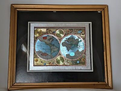 A New and Accvrat Map of the World 1626