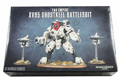 XV95 Ghostkeel Battlesuit, Tau Empire, Warhammer 40k, Games Workshop, NEU/OVP