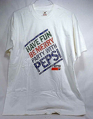 Vintage Pepsi Party T-Shirt - NOS - Adult Extra Large