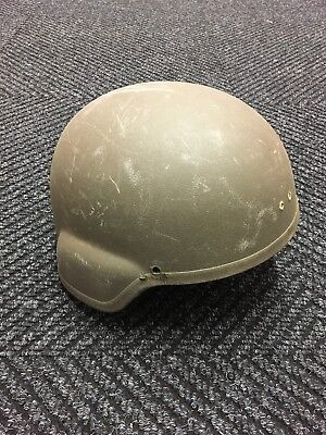 RARE Early Model CGF First Gen 1998 Kevlar Combat Helmet Olive Green Size Large