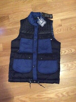 Absolutely New Authentic BARBOUR White Mountaineering Raekawa Quilt Vest Size L