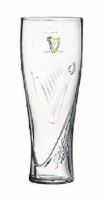Guinness Tall Draught Beer Glass