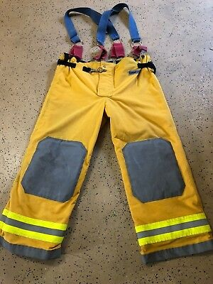 OSX Firefighter Suits: Fire Turnout Pants Bunker Gear 44/30 09/2011