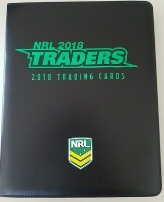 2018 ESP NRL Traders Album / Folder with Complete Full 160-Card Common Base Set
