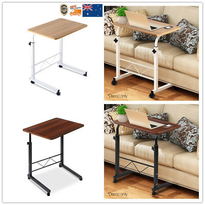 Portable Adjustable Mobile Laptop Desk Computer iPad PC Stand Table For Sofa Bed