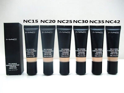 MAC Pro Longwear Nourishing Waterproof Foundation/Concealer 3-5or 25ml full size