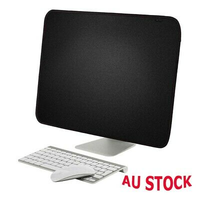 """Cover Black Monitors Dust For iMac 21.5/27"""" Computer Case Cover Protective Soft"""