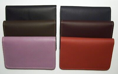Leather Top-Stub Checkbook Cover - Choice of Color - Made in South Carolina, USA