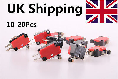 UK Shipping V-155-1C25 SPDT Momentary Limit Micro Switch SPDT Snap Action Switch
