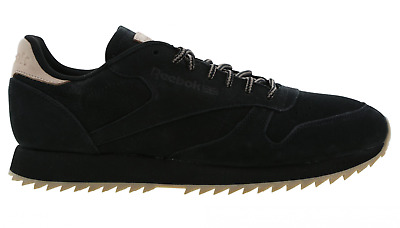 b51ea506142ee7 MENS REEBOK CL LEATHER RIPPLE WP Black Trainers CN1925 - EUR 81
