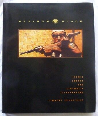 Maximum Black, by Timothy Bradstreet (Signed & Numbered1st Edition)