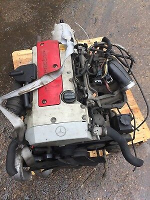 Mercedes Slk Clk 230 Compressor Engine Motor Moteur M 111.973 1996-2000