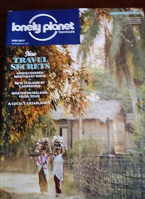 Lonely Planet Magazine New Sealed May 2017 India New Zealand Camper Casablanca