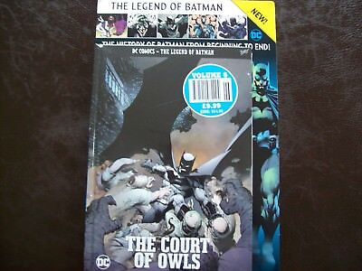 DC COMICS THE LEGEND OF BATMAN COLLECTION # 6 The Court Of Owls
