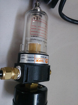 """Borde AF 2000 Water Trap For Compressed Air line """" With Hose """""""