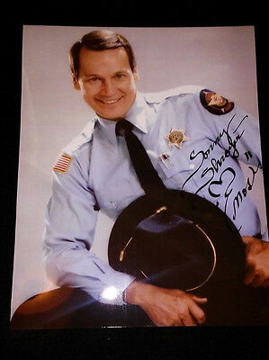 Dukes of Hazzard Sonny Enos Shroyer SIGNED Studio Photo PROOF Direct from Agent