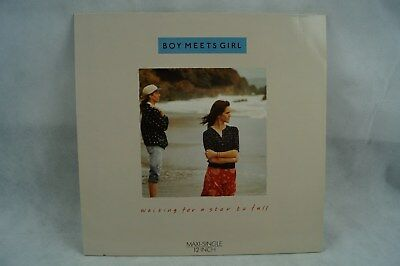 "Boy meets Girl - Waiting for a Star to fall 12"" Maxi"