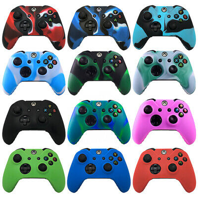 Xbox One Camouflage Silicone Controller Case Skin Cover For Xbox One / S / X