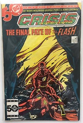 Crisis On Infinite Earths #8: Final Fate Of The Flash. DC. VFN