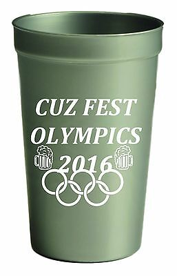 500 22 oz. Stadium Cups Custom Personalized Beer