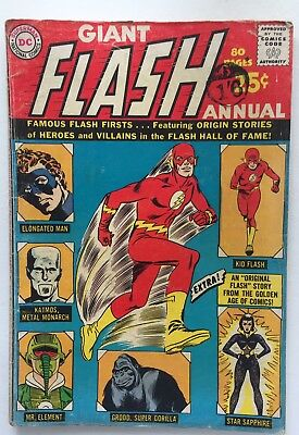 The Flash Annual Comic Book #1, DC Comics 1963 VG-