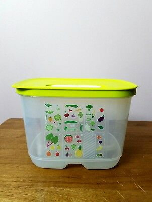 NEW Tupperware Fridge Smart Small Deep Container Keep Your Fruits/Veggies Fresh