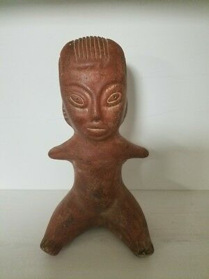 Pre-Columbian Fertility Sculpture Terracotta Jalisco Colima Statue Style