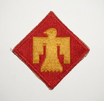 45th Infantry Division Patch WWII US Army P6200