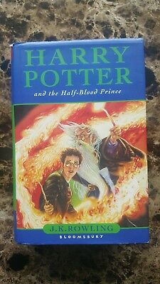 Harry Potter And The Half-Blood Prince - 1st British edition 1st printing. HC DJ