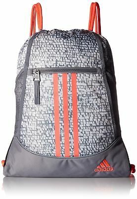 Drawstring Backpack Adidas Sport Gym Sack Bag School Clothes Shoes Sackpack  New db81fe4cb9ea9