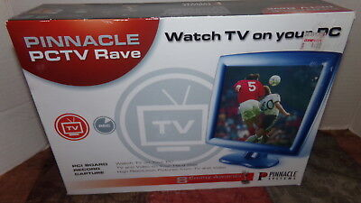 NEW Pinnacle PCTV Rave Watch TV On the PC 210100246  SHIPS FREE!