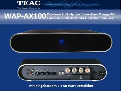 TEAC WAP-AX100 NEU Wireless Receiver 2x50 W Internetradio USB iPhone  WAPAX100