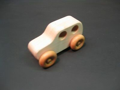 H308 Maple Classic Car, Wood Toy Car, Wooden Toy Car, Handmade, Handcrafted
