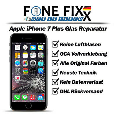 Apple iPhone 7 Plus 5.5 Zoll - Frontglas - Displayglas - Glas - Reparatur - TOP