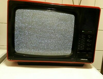 Fernseher Robotron Color-Vision RC 6041 in rot - DDR