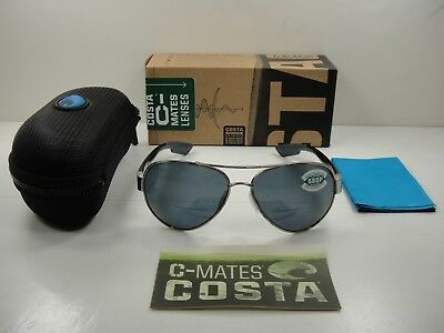 00fb928bafc COSTA DEL MAR South Point So21 580P Aviator Sunglasses - Silver ...