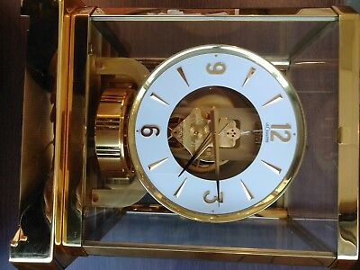 Le Coultre 15 Jewel Atmos Mantle Clock 528-8 S/N # 242178