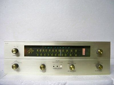 FISHER R200 AM/FM stereo tube tuner,vintage audio