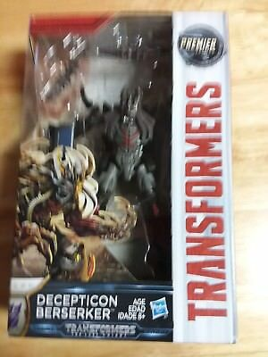 "Transformers The Last Knight ""decepticon Berserker"" Movie Premier Edition (Nib)"