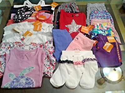 Nwt $480 Rv Gymboree Girls 25 Pcs  Lot Outfits Sets Size 6 Summer Spring