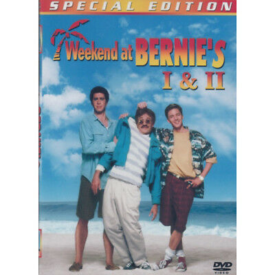 Weekend At Bernies 1 & 2 Comedy Double  Dvd = Brand New Fast Postage  =