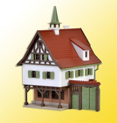 Vollmer Z 9532 City Hall Fence Gate House Building Kit *NEW *in USA