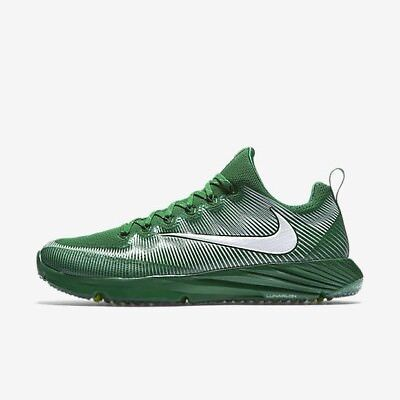 Nike Vapor Speed Turf Lax Football Trainer Shoes Green/White Size 9  833408 311