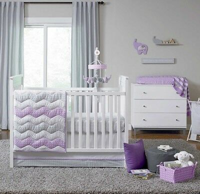 Jonathan Adler Emma Collection 6 Piece Crib Bedding Set by Happy Chic