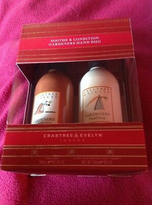 CRABTREE & EVELYN Gardeners Soothe & Condition Hand Duo – Hand Gift Set