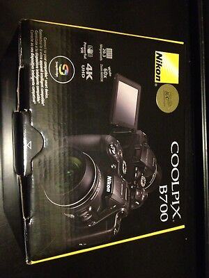 Nikon COOLPIX B700 20.2MP 4K Video WiFi NFC Camera 60x Zoom,rechargeable battery