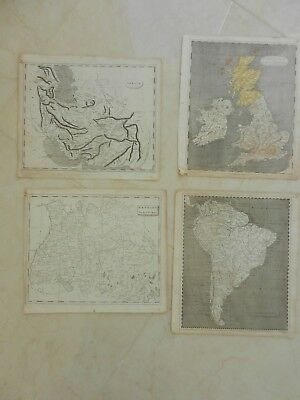 1804 Atlas Maps - 32 Showing Various Parts Of The World