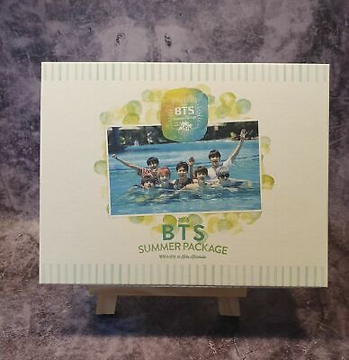 BTS Bangtan Boys Summer Package 2015 Photobook DVD with Free Gift