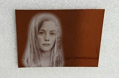 2008 Topps Lord of the Rings Masterpieces Arwen Bronze foil insert Liv Tyler